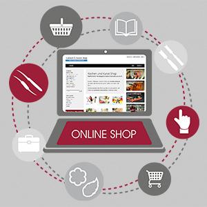 Kochen und Kunst Webshop