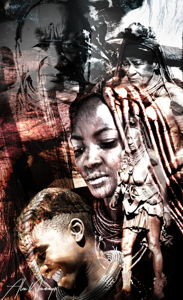 Himba collage