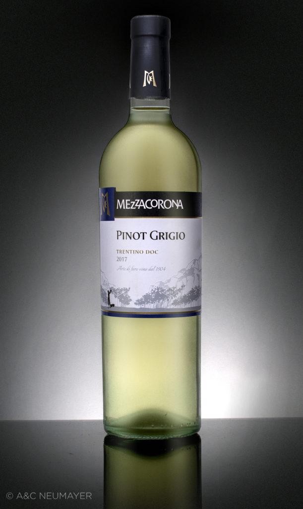 Weisswein flasche