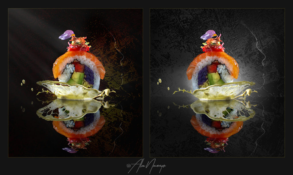 food art - maki