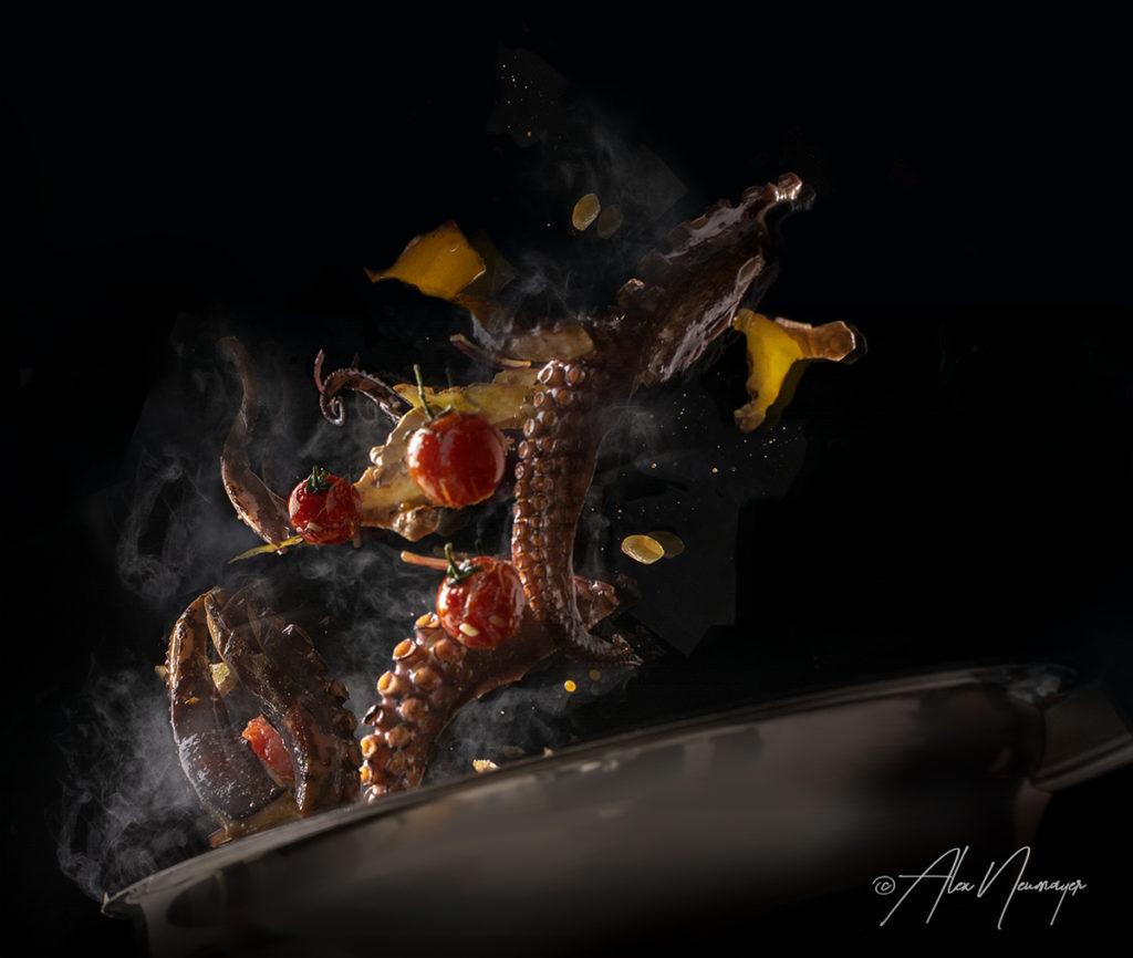 octopus sautieren DSC5589