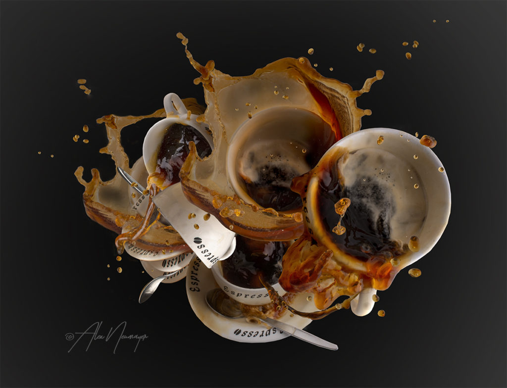 food art -  multi kaffee splash _DSC5014