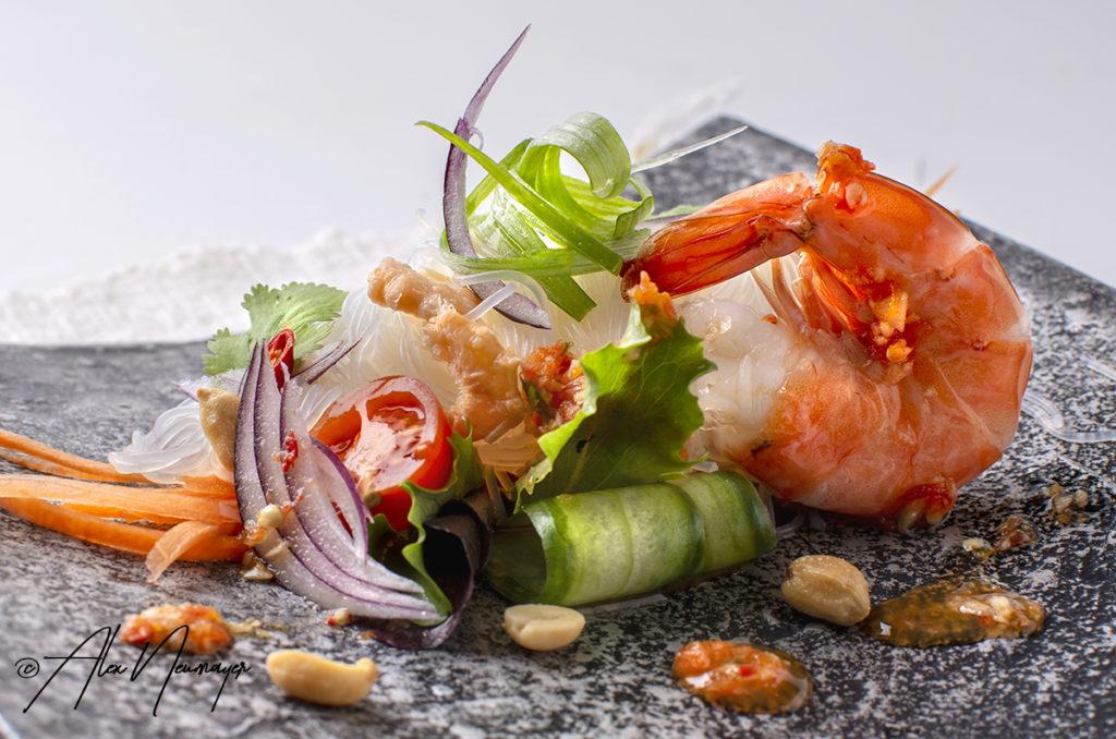 Thai glasnudel salat
