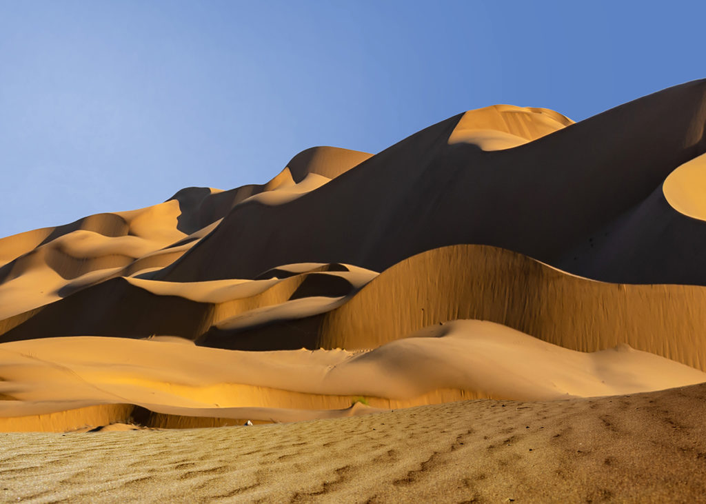 sand dunes afternoon