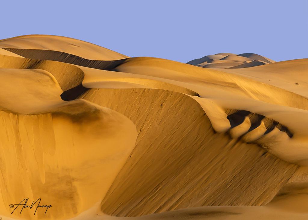 sand dunes close up